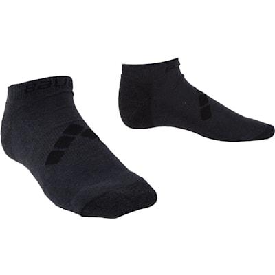 Grey (Bauer Training Low Socks - Adult)