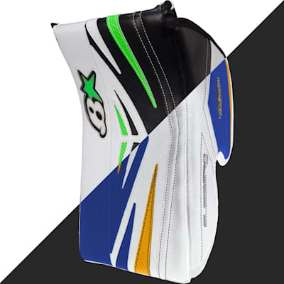 An example of White to Royal color conversion (Pad Wrap - Senior)