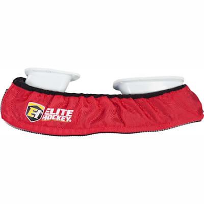 Red (Elite Hockey Pro-Skate Guards Walkable Soakers - Senior)