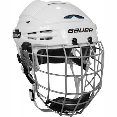 White (Bauer 5100 Hockey Helmet Combo II)