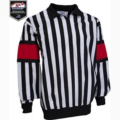 Pro Referee Jersey w/ Red Armbands (Force Pro Referee Jersey w/ Red Armbands - Mens)