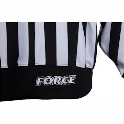 (Force Pro Referee Jersey w/ Orange Armbands - Mens)