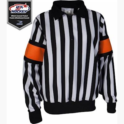 Pro Referee Jersey w/ Orange Armbands (Force Pro Referee Jersey w/ Orange Armbands - Womens)