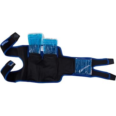 Inside View (Ice Recovery Knee Wrap - Intermediate)