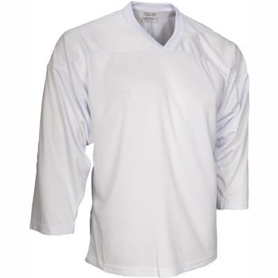 White (CCM 10200 Practice Jersey - Senior)