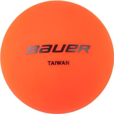 Orange (Bauer Warm Temperature Street Hockey Ball 4 Pack)