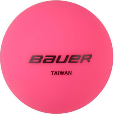 (Bauer Street Hockey Ball Cool - 4 Pack)