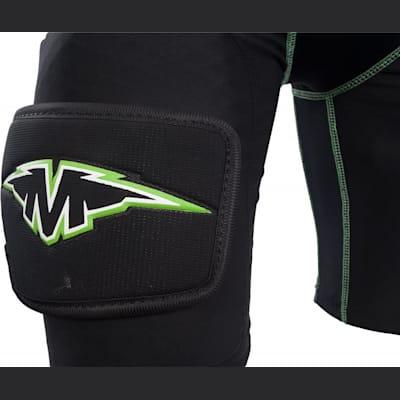 Mission Logo On Sock Attachment (Mission Pro Compression Girdle - Boys)
