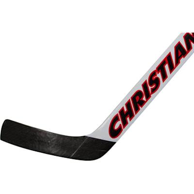 Senior (Christian 990 Foam Core Goalie Stick - White/Black/Red - Senior)