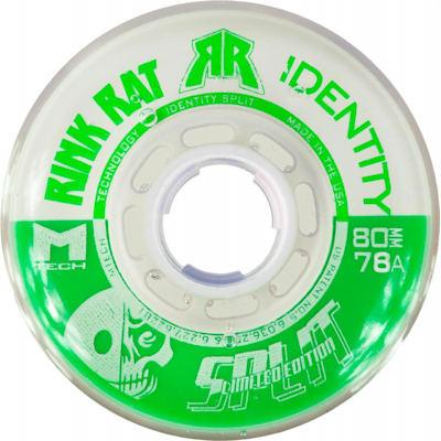 Green/White (Rink Rat Identity Split Inline Wheel)