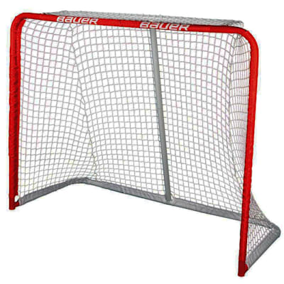 "54x44x24 (Bauer Deluxe Recreational Steel Goal - 54"" x 44"" x 24"")"