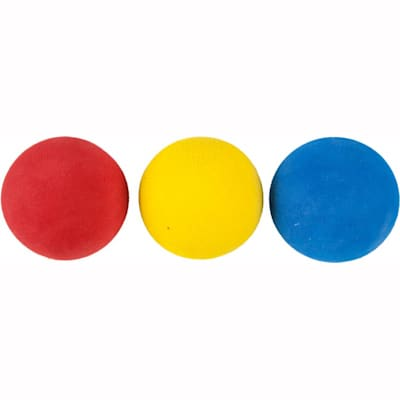 Multi-Color Package (Bauer Mini Foam Balls - 6 Pack)