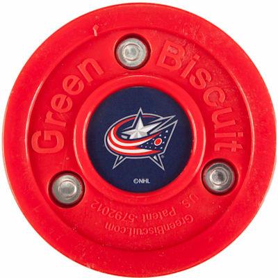 Columbus Blue Jackets (Green Biscuit NHL Team Logo Puck)