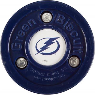 Tampa Bay Lightning (Green Biscuit NHL Team Logo Puck)