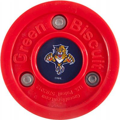Florida Panthers (Green Biscuit NHL Team Logo Puck)