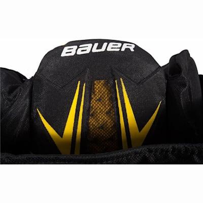 Bauer Logo (Bauer Supreme TotalOne MX3 Hockey Pants - Junior)