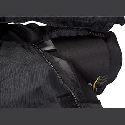 Zipper View (Bauer Supreme TotalOne MX3 Hockey Pants - Junior)