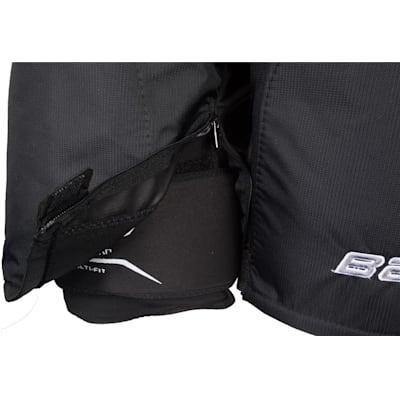 Zipper View (Bauer Supreme 190 Hockey Pants - Junior)