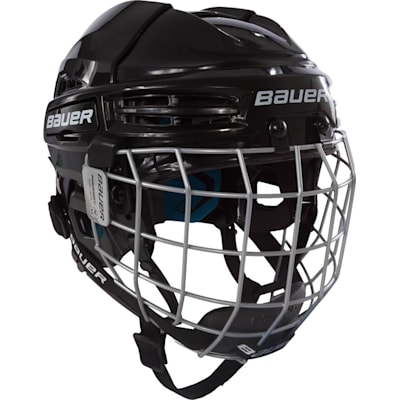 Black (Bauer Prodigy Hockey Helmet Combo - Youth)