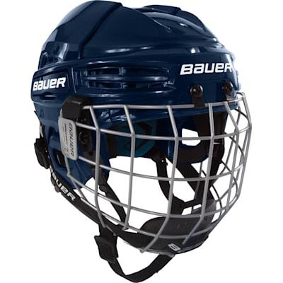 Navy (Bauer Prodigy Hockey Helmet Combo - Youth)