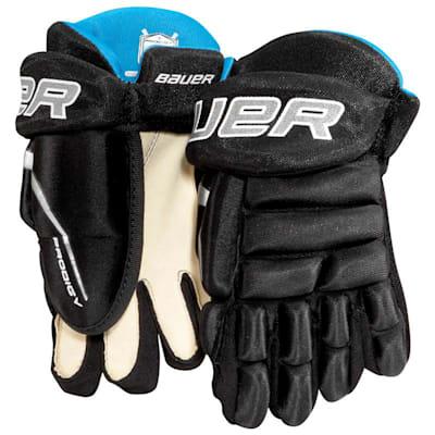 Black (Bauer Prodigy Hockey Gloves - Youth)