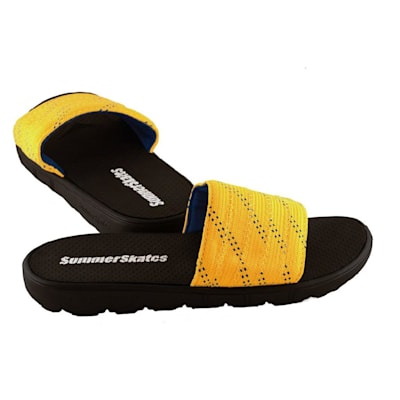 Yellow with Blue (SummerSkates Sandals - Senior)
