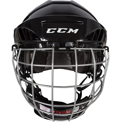 Front View (CCM Fitlite FL40 Hockey Helmet Combo)