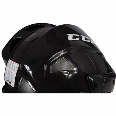 Three Quarter View (CCM Fitlite FL40 Hockey Helmet Combo)
