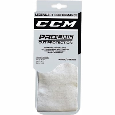 (CCM Pro-Line Cut-Resistant Knee Length Performance Socks - Adult)