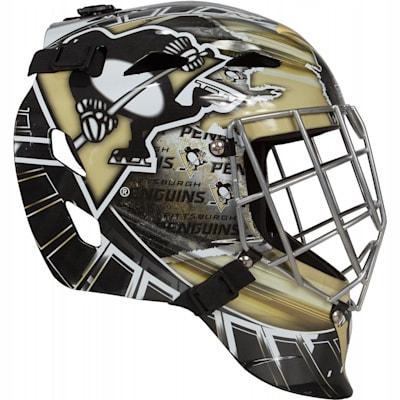(Franklin GFM1500 NHL Decal Street Hockey Goalie Mask)