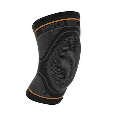 (Shock Doctor Compression Knit Knee Sleeve with Gel Support)