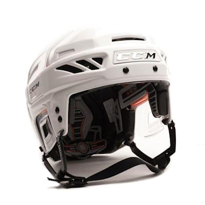 White/White (CCM Fitlite 3DS Hockey Helmet)