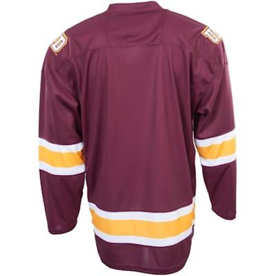 Back (Under Armour Minnesota-Duluth Bulldogs Jersey - Home/Dark - Senior)