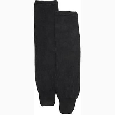 Black (CCM S100P Knit Socks - Senior)