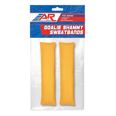 (A&R Shammy Goalie Sweat Band - 2 Pack)