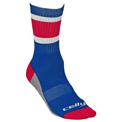 Tour Celly Socks New York Rangers (Celly Hockey Socks - New York - Mens)