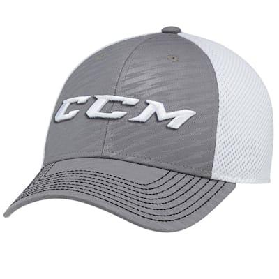 Dark Grey (CCM Performance Mesh Flex Cap - Adult)