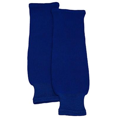 (Solid Knit Hockey Socks - Junior)