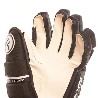 Alpha QX Pro Glove - Palm View (Warrior Alpha QX Pro Hockey Gloves - Junior)