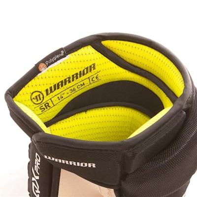 Alpha QX Pro Glove - Liner View (Warrior Alpha QX Pro Hockey Gloves - Junior)