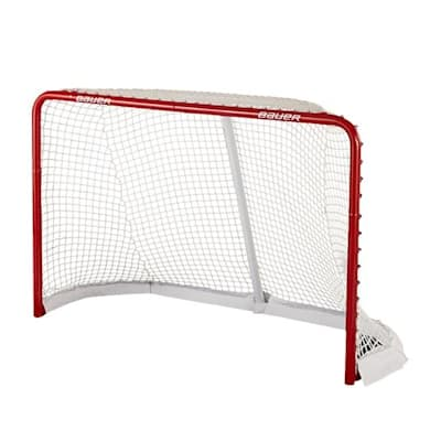 (Bauer Deluxe Official Pro Hockey Net)