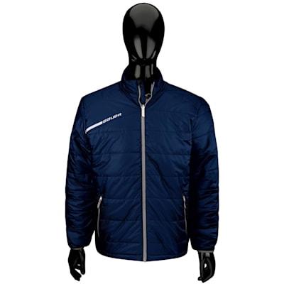 Navy (Bauer Flex Bubble Hockey Jacket - Senior)