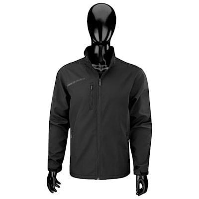 Black (Bauer Team Softshell Hockey Jacket - 2017 - Senior)