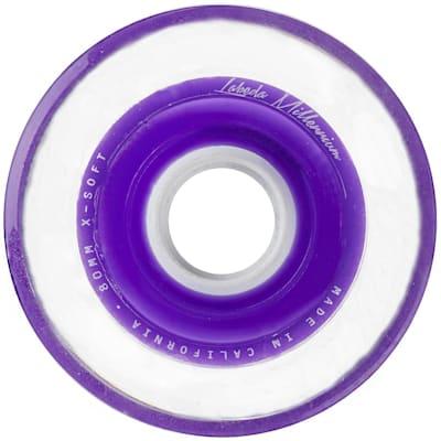 Millennium Purple Wheel (Labeda Millennium Signature Inline Hockey Wheel - Purple)