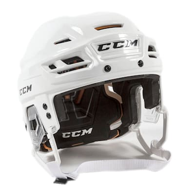 White (CCM Tacks 710 Hockey Helmet)