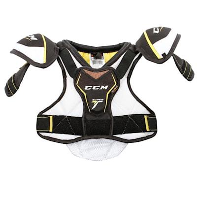 Super Tacks Shoulder Pad (Yth) - Front (CCM Super Tacks Hockey Shoulder Pads - Youth)
