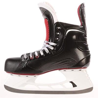 S17 Vapor X500 Ice Skate - Side View (Bauer Vapor X500 Ice Hockey Skates - 2017 - Senior)