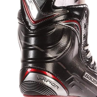 S17 Vapor X500 Ice Skate - Heel Close up (Bauer Vapor X500 Ice Hockey Skates - 2017 - Senior)
