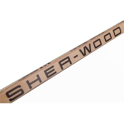 (Sher-Wood 5030 Wood Goalie Stick - Intermediate)