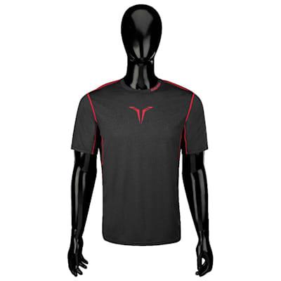 Bauer Core Hybrid Top (Bauer Core Short Sleeve Hybrid Hockey Shirt - 2017 - Adult)